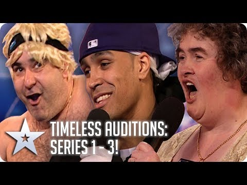 BGT's Timeless Auditions | Series 1 – 3 | Britain's Got Talent