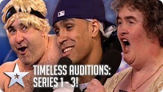 BGT's Timeless Auditions | Series 1 - 3 | Britain's Got Talent