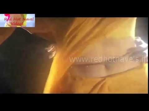 Hot Navel kissing on actress big navel