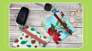 Coin Purse Keychain- Day 8 Of 12 Days Of Last Minute DIY Gifts