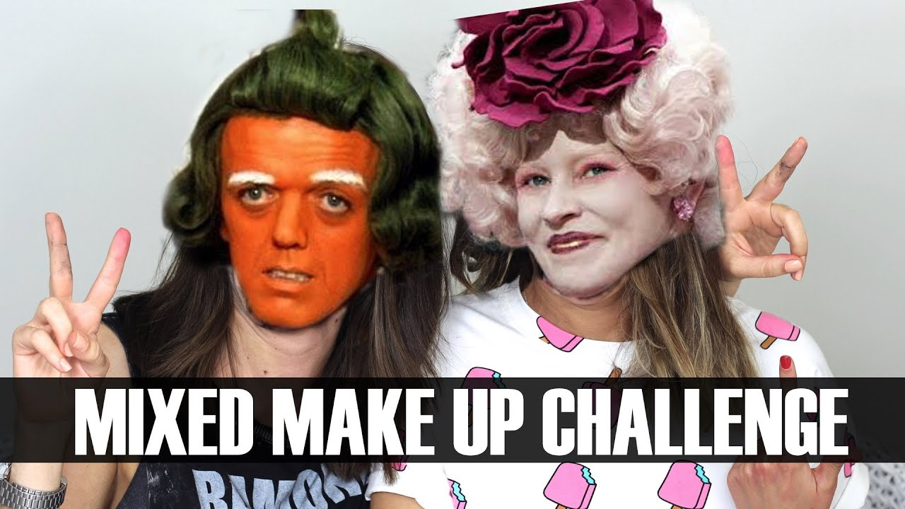MIXED UP MAKE UP CHALLENGE con Aishawari