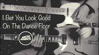 I Bet You Look Good On The Dance Floor - Arctic Monkeys  ( Guitar Tab Tutorial & Cover )