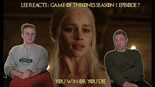"""Lee Reacts: Game of Thrones 1x07 """"You Win or you Die"""" Reaction"""