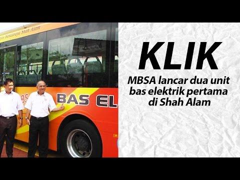 MBSA lancar dua unit bas elektrik pertama di Shah Alam