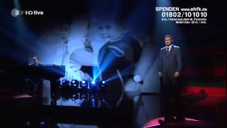 Chris de Burgh - The Simple Truth (A Child Is Born) Ein Herz für Kinder - December 2014