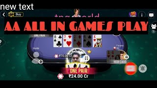 GOOD LUCK POKER AA WIN400CR TEENPATTGOLD