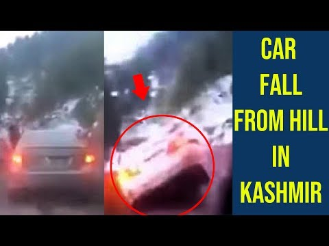 Car Fall From Hill In Kashmir - Accident In Kashmir