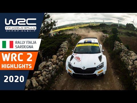 WRC2 ラリー・イタリア・サルディニア WRC2クラスのハイライト動画