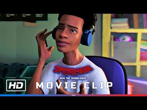 Spider-Man: Into The Spider-Verse – 'Miles Singing Sunflower' Scene [HD]