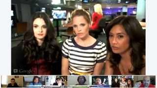 КЭТИ ЛЕКЛЕРК, Третьего сентября 2012 г. в интернете была онлайн-конференция с Кэти и Ванессой Марано, где они отвечали на вопросы фанатов