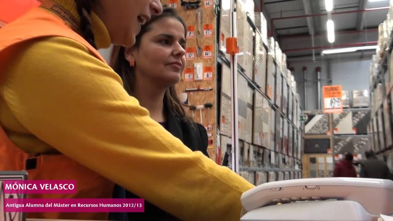 Mónica Velasco, alumna del Máster en Dirección y Gestión de Recursos Humanos