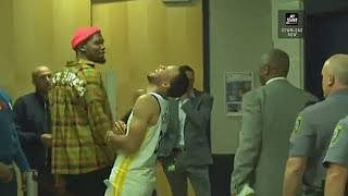 Stephen Curry Gets Surprised By Kevin Durant After Warriors Destroy The Thunder! Warriors vs Thunder