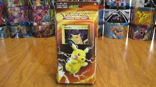 Pikachu Power Theme Deck Review and Giveaway