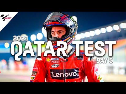 MotoGP 2021カタールテスト 5日目のハイライト動画