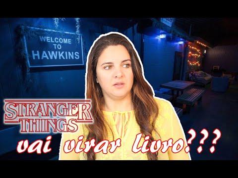 STRANGER THINGS VIROU LIVRO, RAI?ZES DO MAL | LIVROS DA BELA