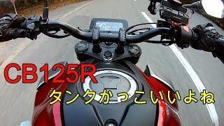 HONDA CB125R タンク堪能動画