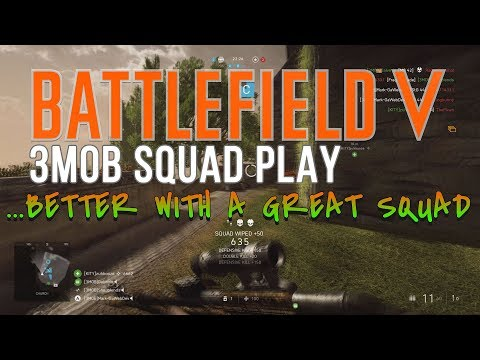 PC [3MOB] Battlefield 5 Gaming Community - Squad Up Now! NA / 17+