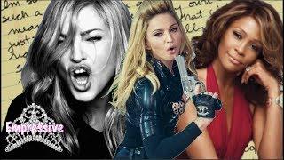 Madonna Disrespects Whitney Houston! (Old Letter Revealed)