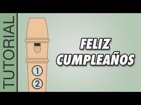 , title : 'Cómo tocar Feliz Cumpleaños en Flauta Dulce - Canciones Fáciles - Tutorial con Notas'