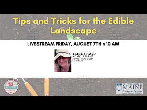 , title : 'Tips and Tricks for the Edible Landscape