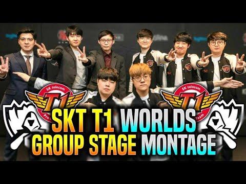 SKT T1 ROAD TO WORLDS FINAL *SKT T1 BEST OF GROUP STAGE Montage*   SKT T1 Worlds 2019 Group Stage