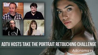 Adorama TV Hosts Take Mark's Retouching Challenge: Exploring Photography with Mark Wallace