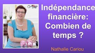 En combien de temps atteindrez vous votre indépendance financière ?
