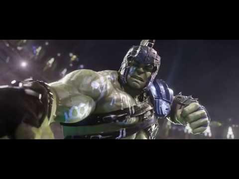 Thor3 Ragnarok-Thor vs Hulk