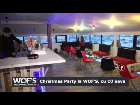 Christmas Party la WOF'S cu DJ Sava