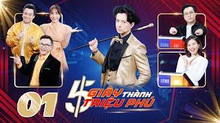 """5 Giây Thành Triệu Phú   Tập 1: Khả Như """"uy tín"""" tư vấn câu hỏi Running Man khiến Lê Lộc hoang mang"""