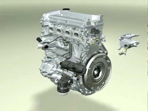 Der Motor das 111 2.3 Benzin