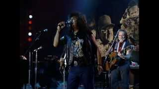 Texas Tornados with Willie Nelson - Wasted Days And Wasted Nights (Live at Farm Aid 1992)