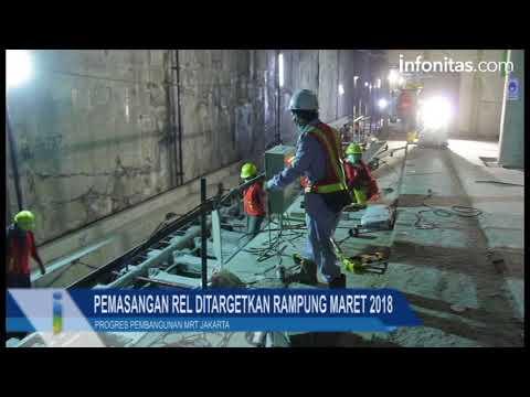 Progres Pembangunan MRT Kawasan Bundaran HI