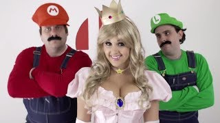 SMASH - Super Smash Bros. in REAL LIFE - Smash Rap Song | Screen Team