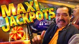BIG JACKPOT TIME !!! Jackpot Streams - 2c KONAMI Video Slots