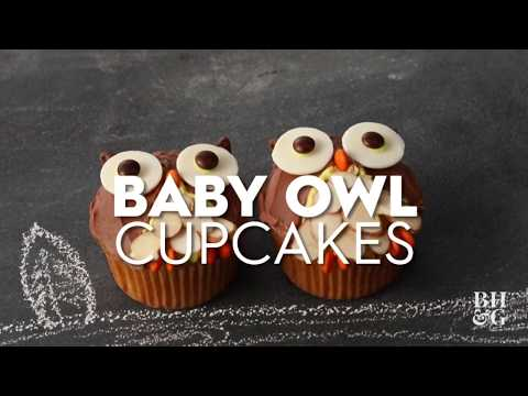Owl Cupcakes | Fun With Food | Better Homes & Gardens