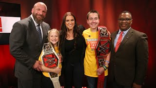 Stephanie McMahon and Triple H recognize childhood cancer survivors in partnership with Hyundai