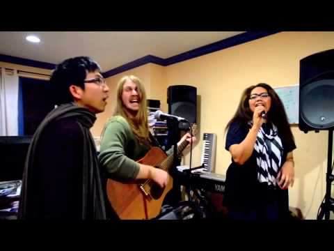 Ho Hey (Lumineers cover)- The Evening Guests w/Akesa