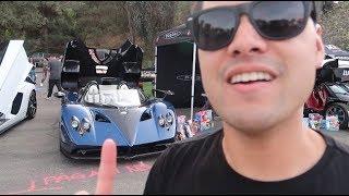 The MOST Expensive Illegal Car in California | Pagani Zonda HP Barchetta