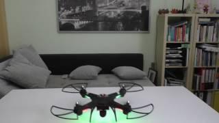 Quadrocopter - HD-Kamera-Drohne auch für Anfänger mit Headless-Modus!