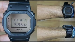 Jam Tangan Casio G-Shock Original Pria DW-5600BBMA-1DR ---Metallic Mirror Face Models---