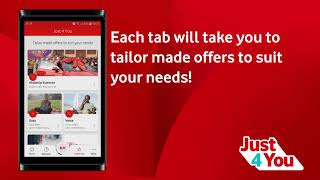 Vodacom Self Service | Just 4 You Offers on the My Vodacom App