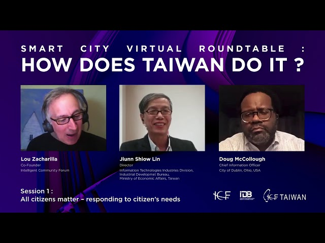 How Does Taiwan Do It? Session 1: All citizens matter – responding to citizen's needs