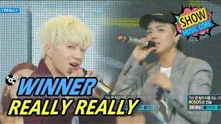 [HOT] WINNER - REALLY REALLY, 위너 - 릴리릴리 Show Music core 20170429