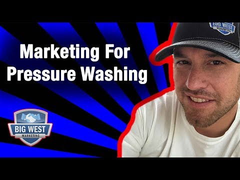 How To Do Marketing For Pressure Washing Businesses - Top 5 Ideas