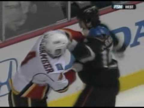 George Parros vs. Jim Vandermeer