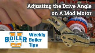 Adjusting the Drive Angle on a Honeywell Mod Motor - Weekly Boiler Tips