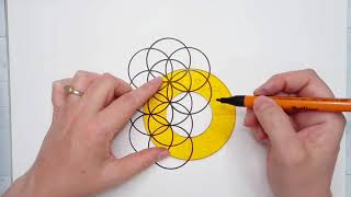 Draw Sacred Geometry :: The Flower Of Life