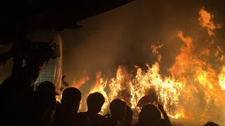 【ほぼ生配信】守山市 勝部神社の火まつり
