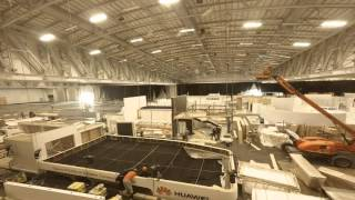 Exhibition Stand Build Up Timelapse AfricaCom 2015
